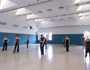Victoria Eugenia Theatre's Dance Room