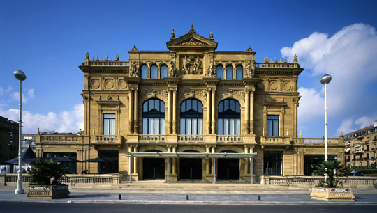 Image of the facade of the Victoria Eugenia Antzokia